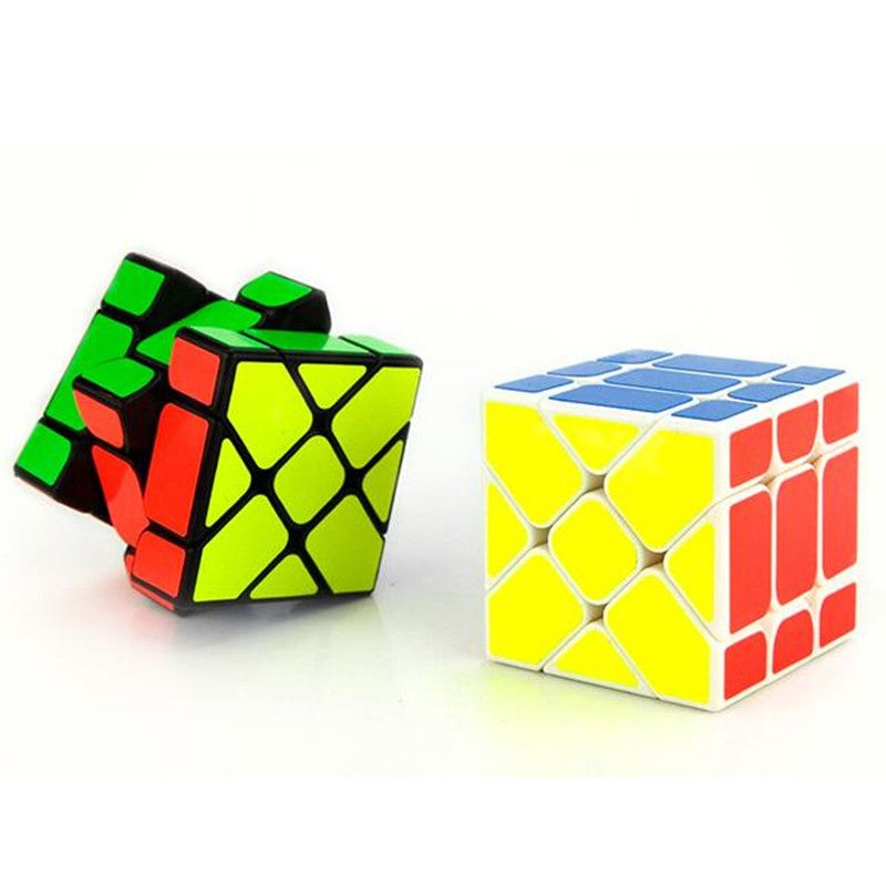 Hot Sale YongJun YJ Speed 3X3X3 Fisher Cube Magic Cubes ...