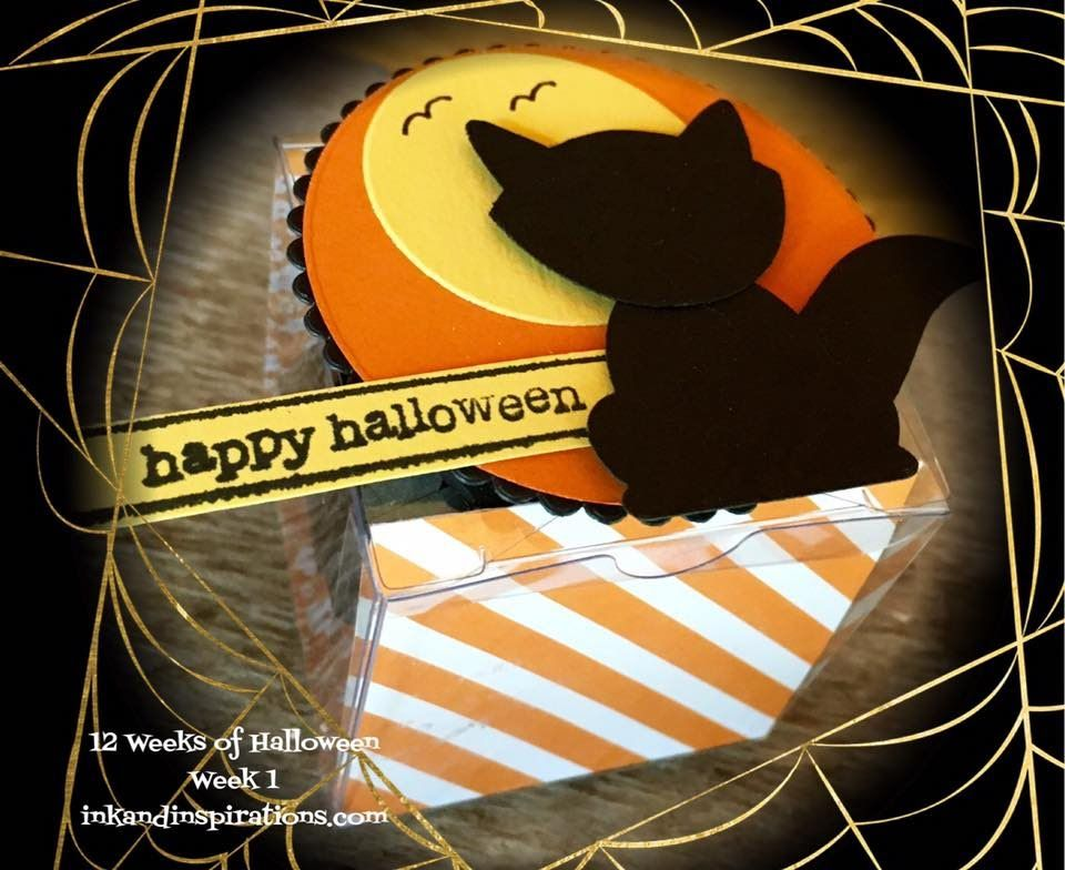 12 Weeks of 2016 Stampin' Up! Halloween Projects Week 1