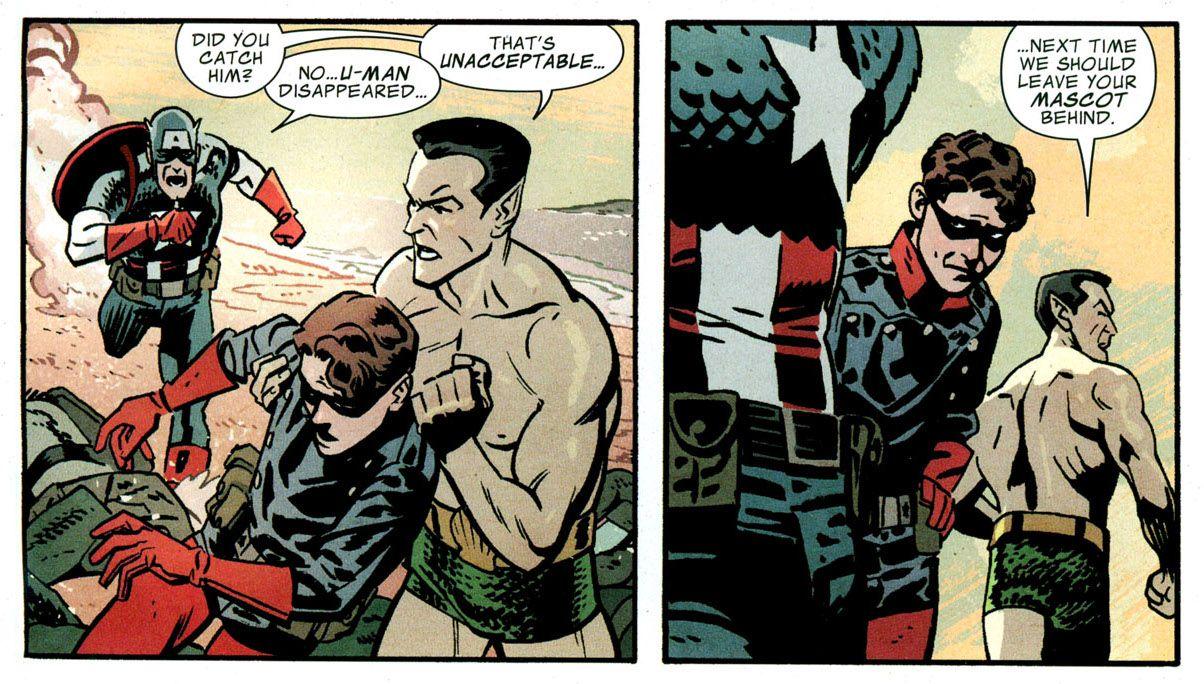 Namor x Bucky