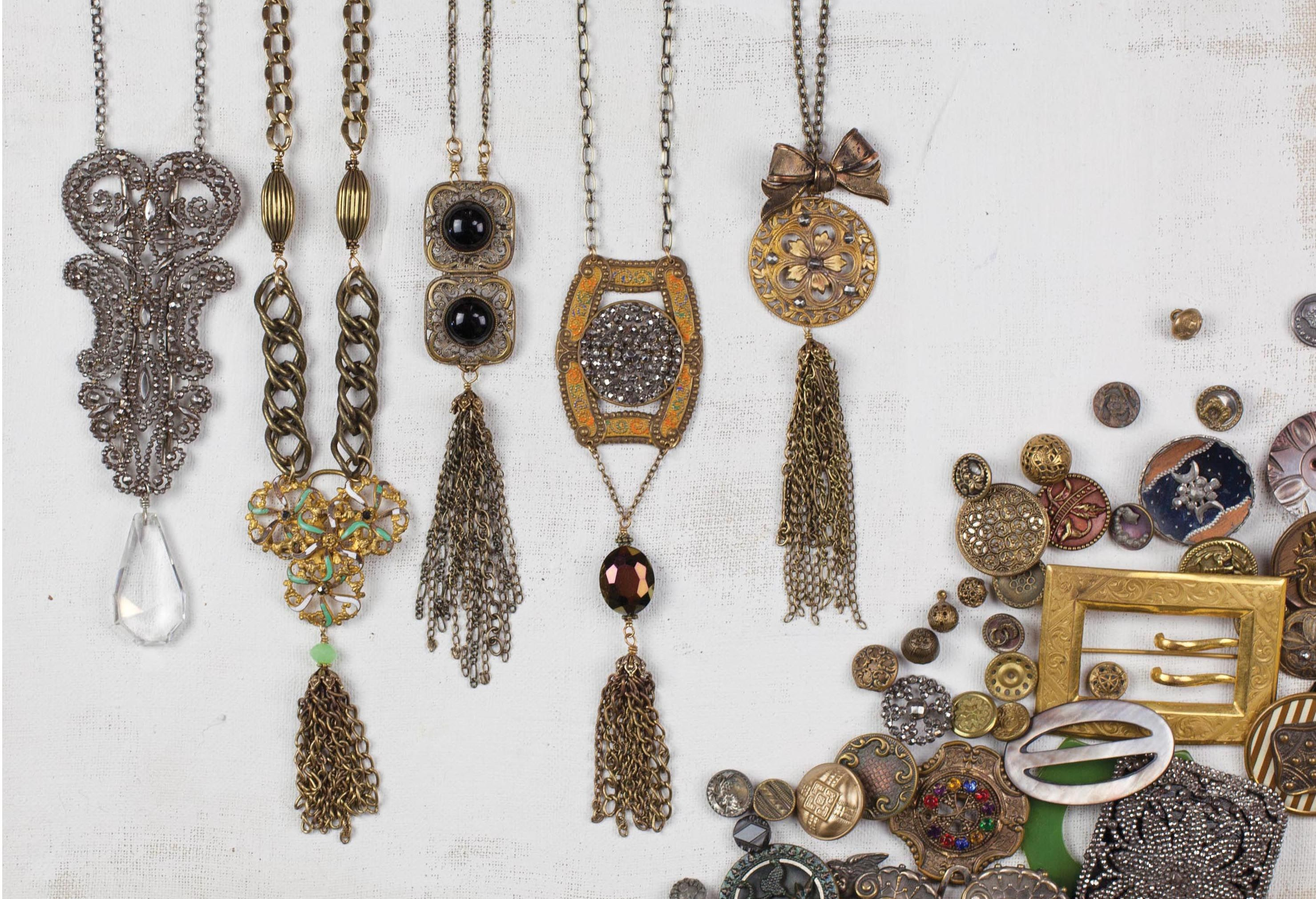Grandmother's Buttons | Shop Online Antique and Vintage Button Jewelry | St. Francisville, LA