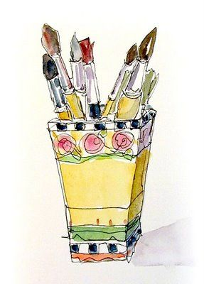 Catherine Carey S Painting Classes And Workshops Watercolor