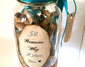 52 reasons why i love you gift in a jar projects to try 52 reasons why i love you gift in a jar negle Image collections