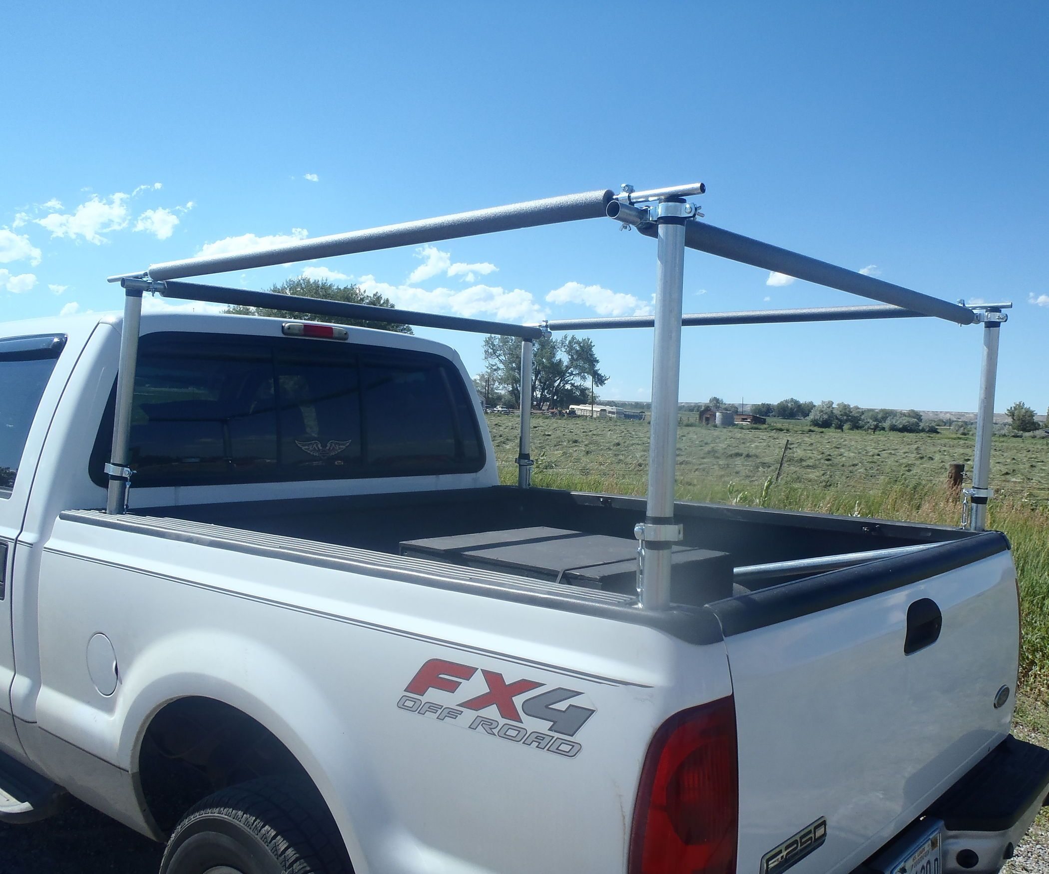 Truck Bed Utility Rack Truck bed, Truck bed storage