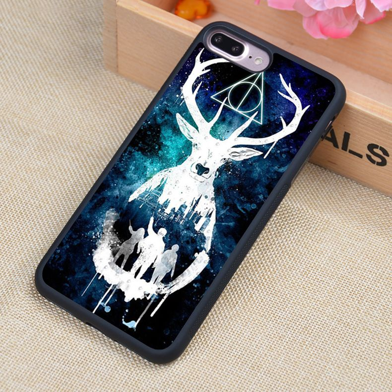 newest 8e386 ed0d1 Harry Potter Hogwarts Watercolor Style Soft Rubber Back Case Cover ...