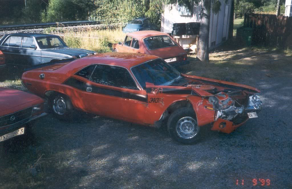 Wrecked Muscle cars Yellow Bullet Forums Richard's
