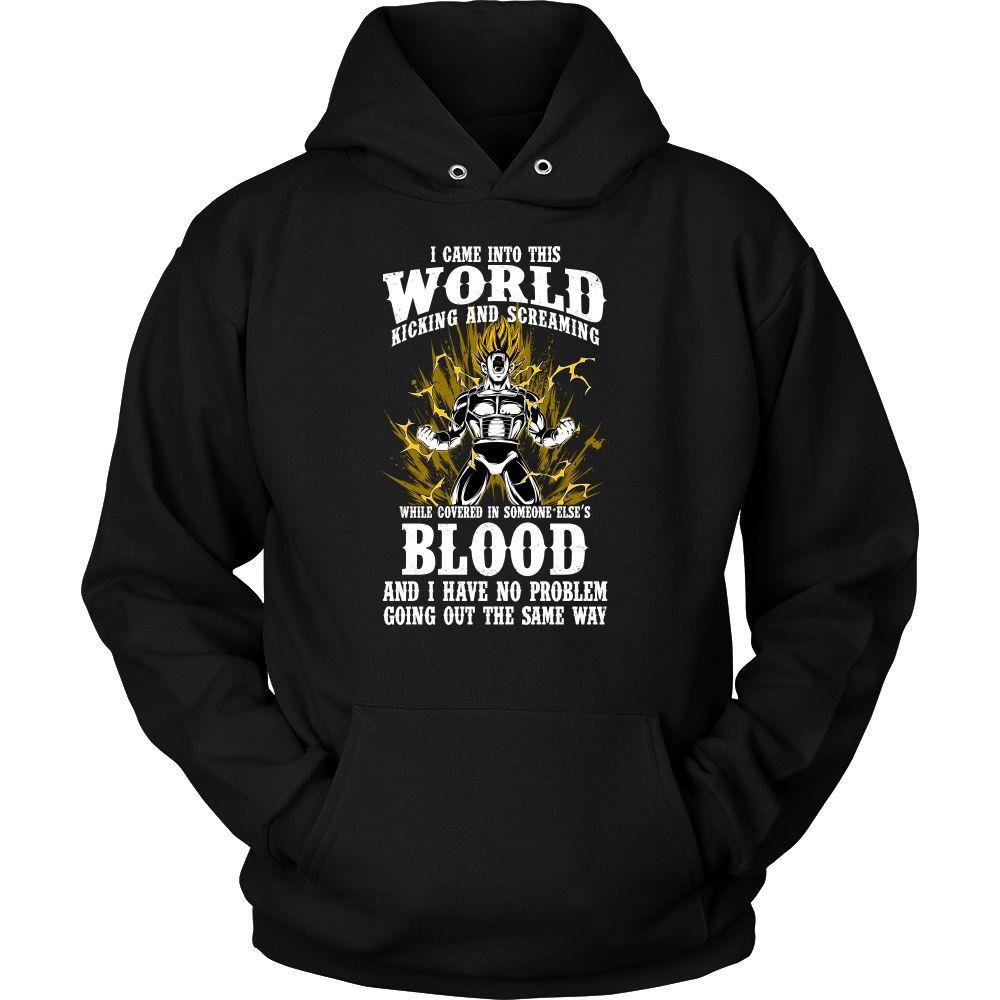 Super Saiyan Vegeta Unisex Hoodie T shirt -TL00131HO