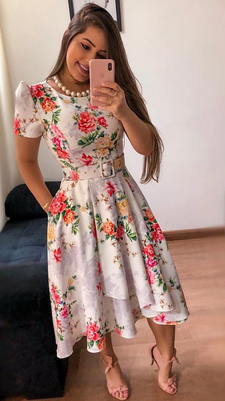 74baa00e38 Vestido flores