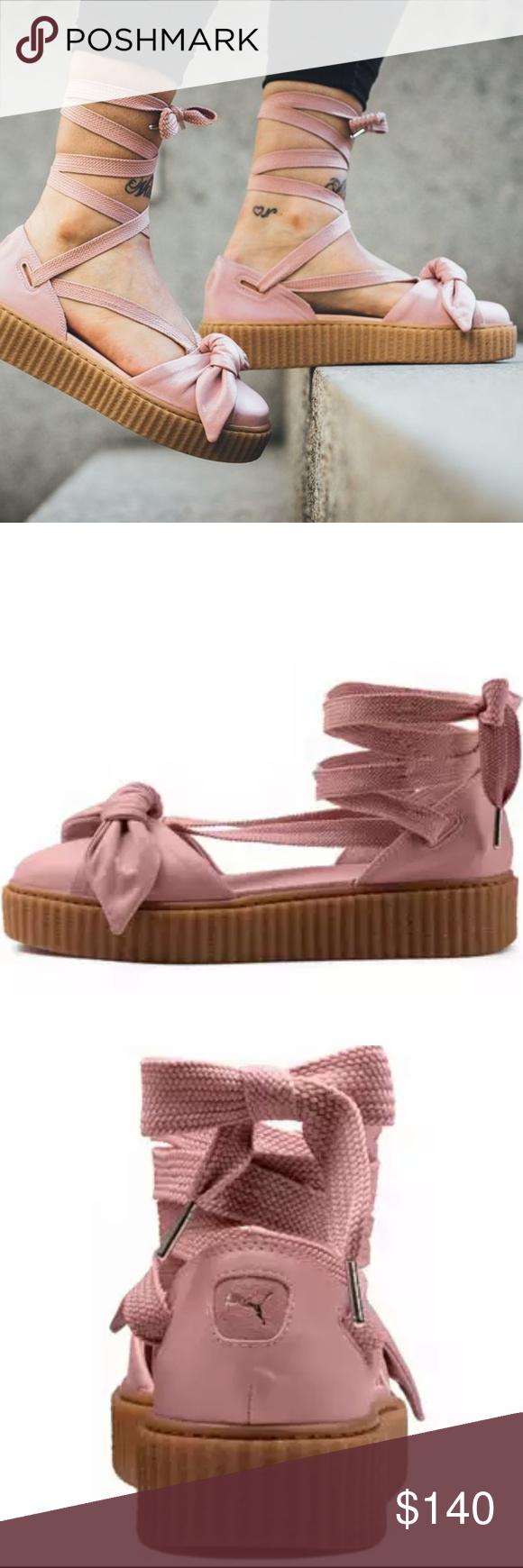 PUMA FENTY PUMA by Rihanna Bow Creeper Lace-Up Sandal Pick A Size MSRP $140