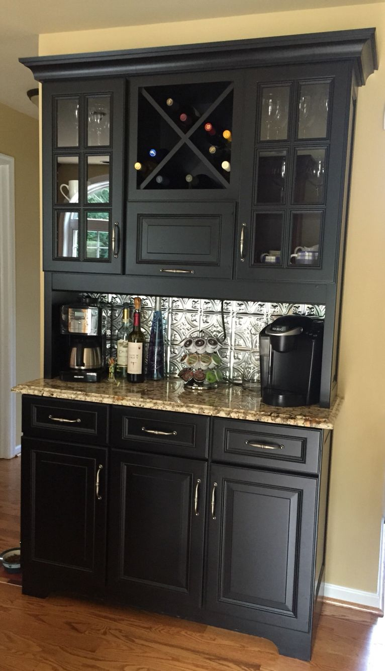 Coffee and wine bar for the kitchen | Dining buffet ...