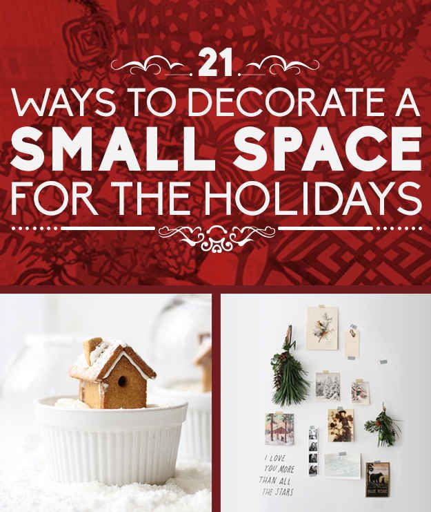 Christmas Decorations For Small Spaces: 21 Ways To Decorate A Small Space For The Holidays