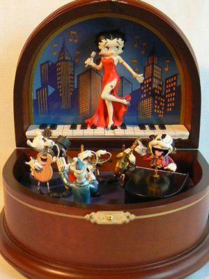 Music Box Betty Boop Antique