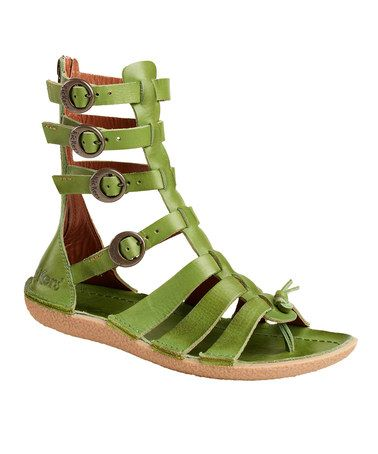 524088cefe3 Take a look at this Green Pepita 2 Gladiator Sandal - Women by Kickers on   zulily today!