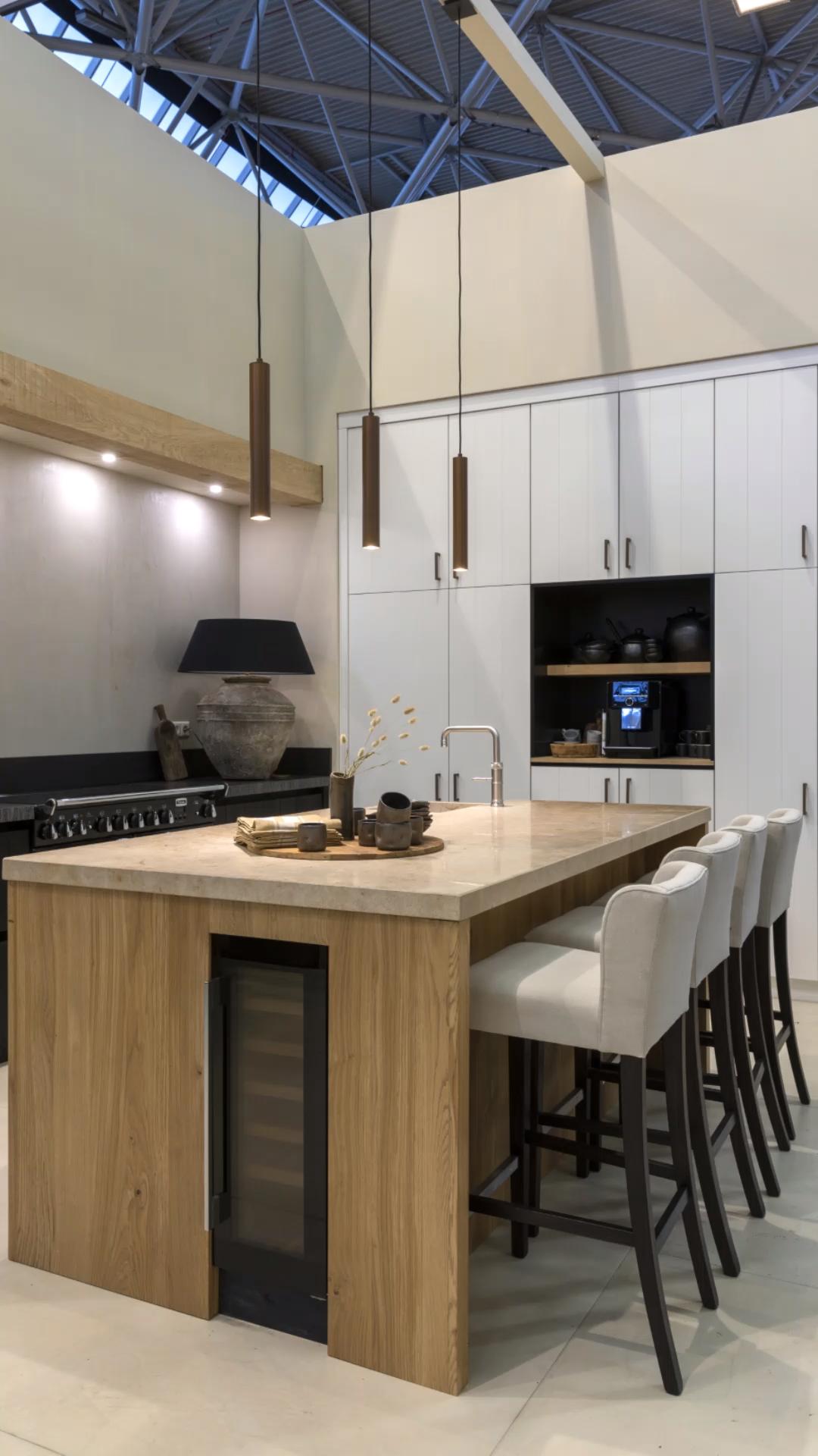 Photo of De WLS beurs keuken op de VT Wonen&Designbeurs 2019