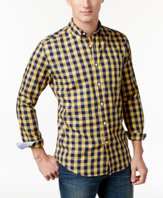 TOMMY HILFIGER Tommy Hilfiger Men's Archer Check Shirt. #tommyhilfiger #cloth #down shirts
