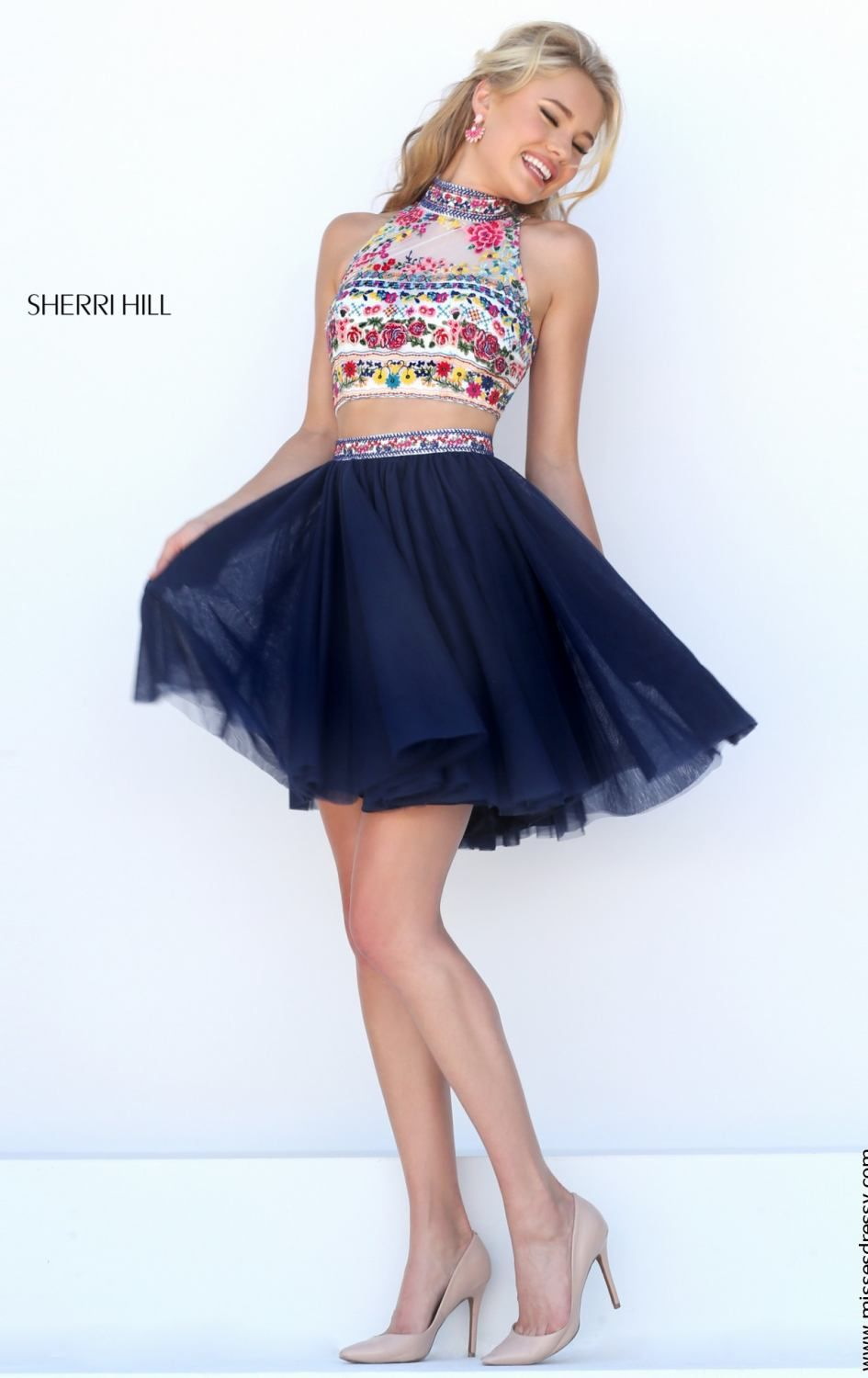 Sherri hill by sherri hill dresses fancy short pinterest