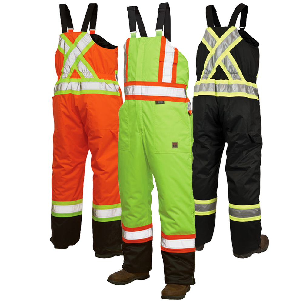 Work King Freezer Jacket Work King S798 Thermal Bib Overalls In 2019 High Visibility