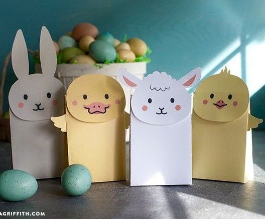 Easter homemade goodie bags easter crafts goodies easter homemade goodie bags negle Image collections