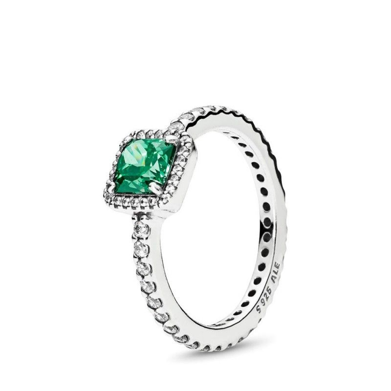 Petite Dainty 2mm Half Eternity Stackable Band Simulated Emerald Green CZ Solid 925 Sterling Silver Bezel Crown