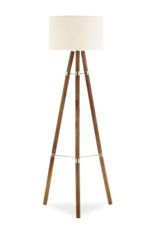 Buy Wooden Floor Lamp from the Next UK online shop | Home bird ...