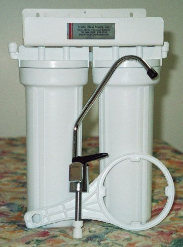 Custom Double Undercounter Water Filter Purifier With Doulton
