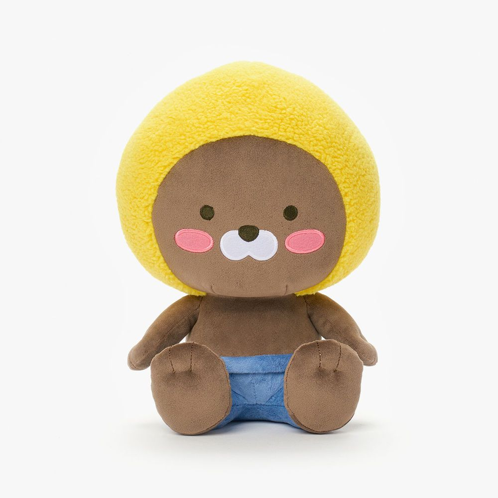 "KAKAO FRIENDS Character Plush Doll Toy Little APEACH 25cm 9.8/"" Official Goods"