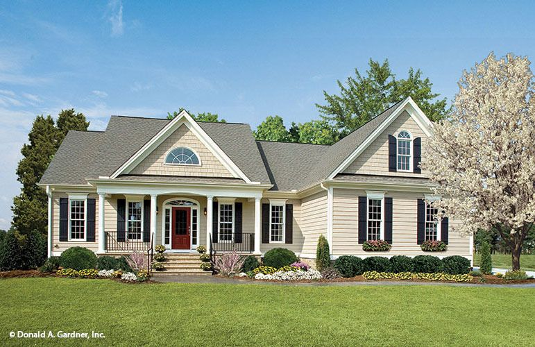 The Cartwright Home Plan By Donald A Gardner Architects House Plans Farmhouse Modern Farmhouse Plans Craftsman House Plans