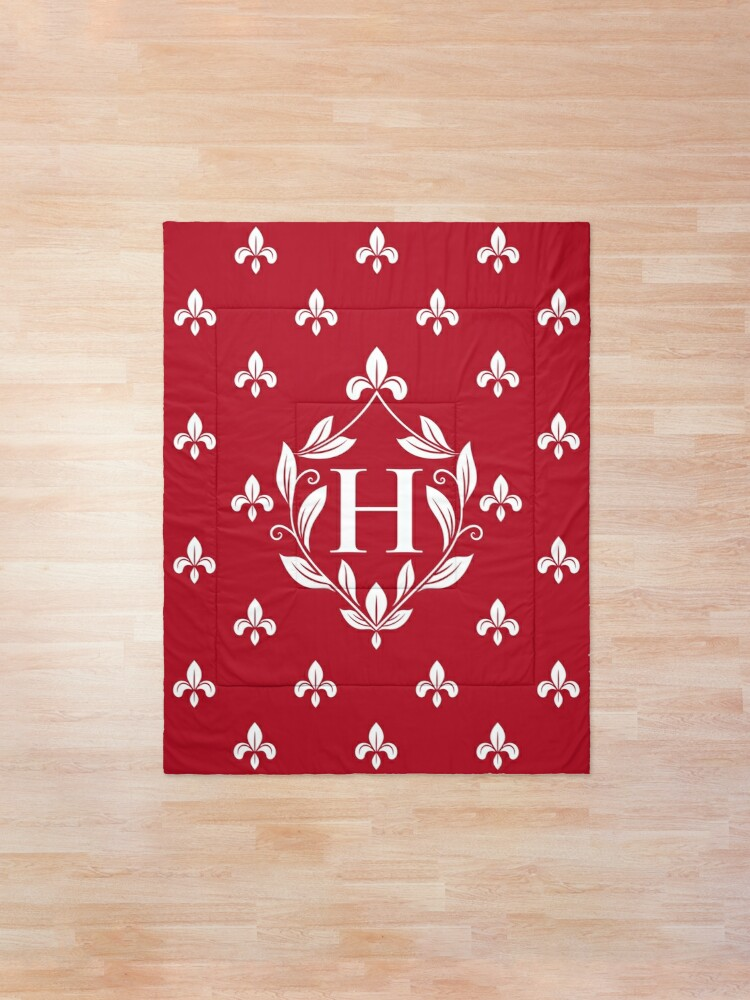 'Personalized Monogram. Shield frame with leaves. Design