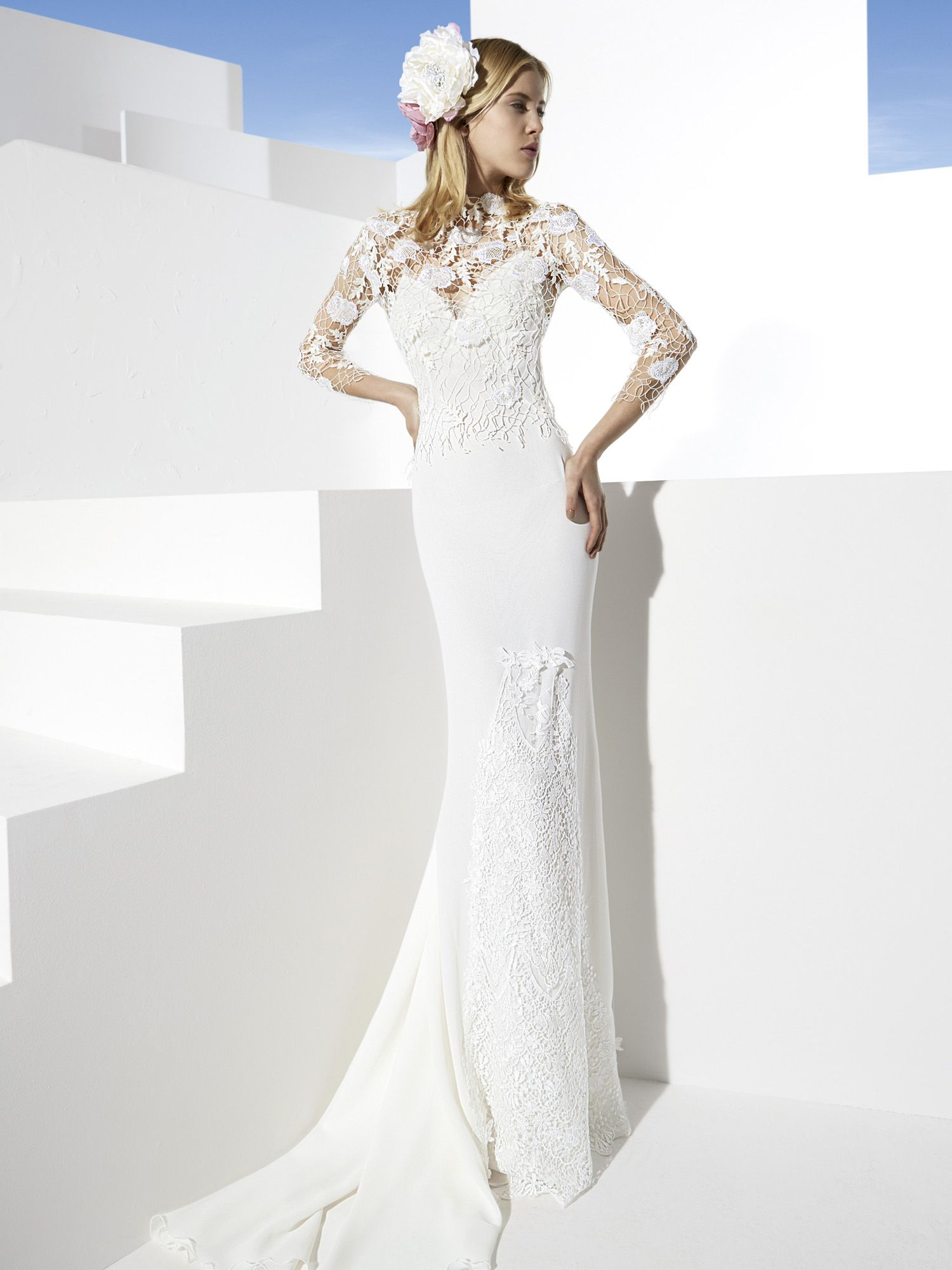 Yolancris boho chic wedding dresses bohemian bride pinterest