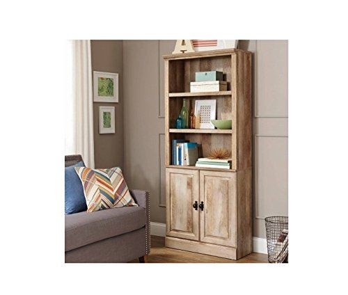 7e32fe33e3f40b508a17e52c8c2f9fd0 - Better Homes And Gardens Crossmill Collection 3 Shelf Bookcase Weathered