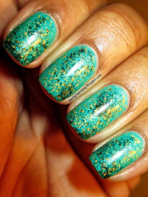 Fairly Charming: Playing with Turquoise | Nails nalisssss ...