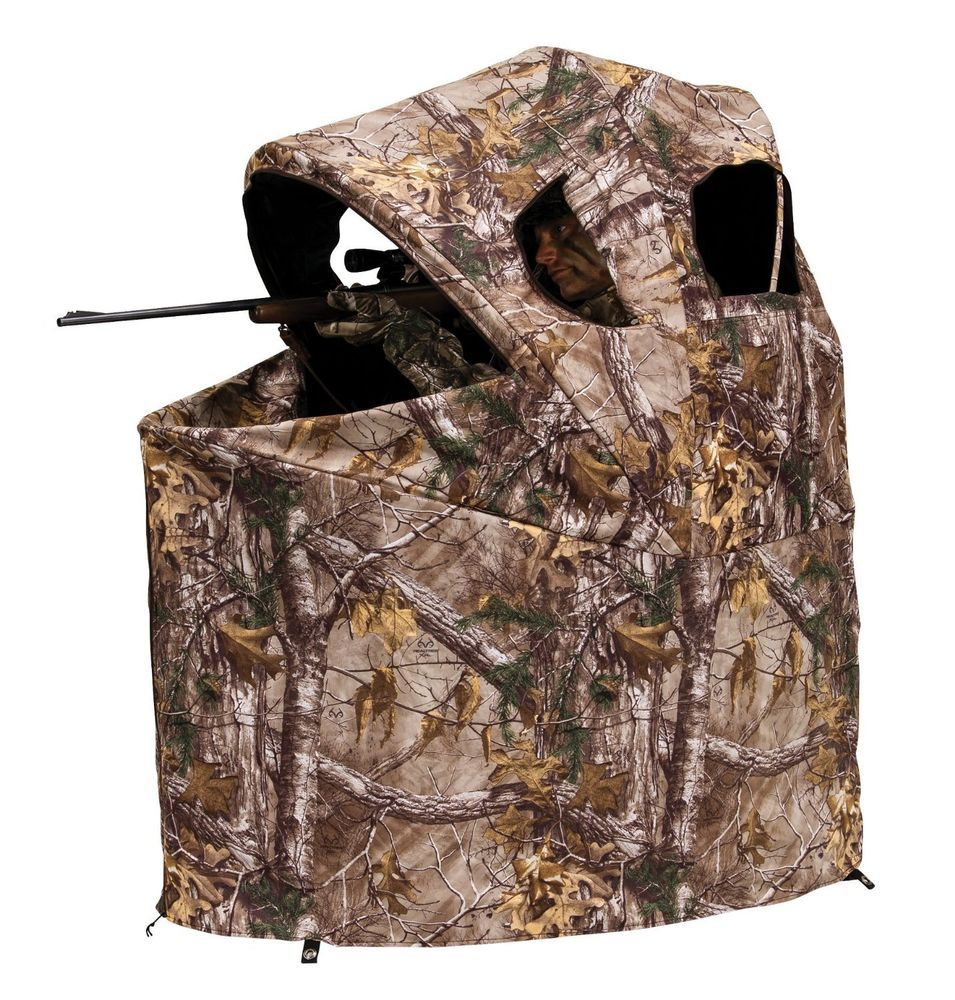 Hunting Ground Blinds Portable Stand Tent Chair Canopy Deer Hunter Shelter Tools Deerhuntersheltertools Tent Chair Ground Blinds Hunting Blinds