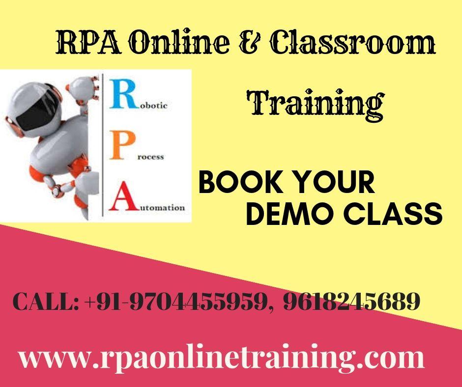 RPA Online Training Online classroom, Classroom training