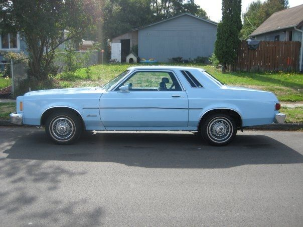 My First Car Was A Baby Blue 1978 Ford Granada Just Like This One Except Mine Had A Dark Blue 1 4 Vinyl Top Ford Granada Family Car First Car