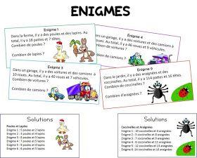 Remue Meninge Enigmes Multiplicatives Problemes Ouverts Cycle 2 Et 3 Jeux Mathematiques Ce2 Jeux Ce1 Jeux A Imprimer
