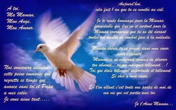 priere pour anniversaire de deces