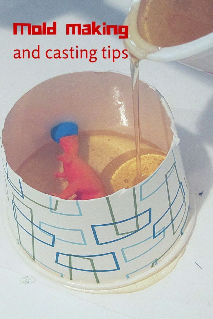 how to make molds for resin casting