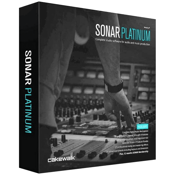 Cakewalk Sonar Platinum V23 10 0 14 Contents Full Version Cake Walk Digital Audio Workstation Sonar