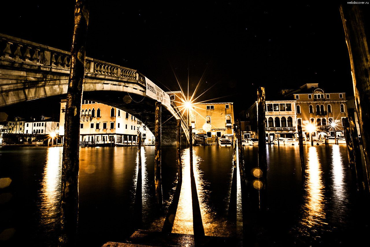 Ночная Венеция