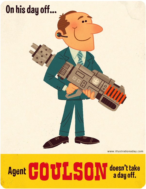 Agent Coulson / Children's Book