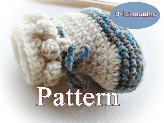 Baby Easy Boots Crochet Pattern LP02 by LovelyPatterns on Etsy ...