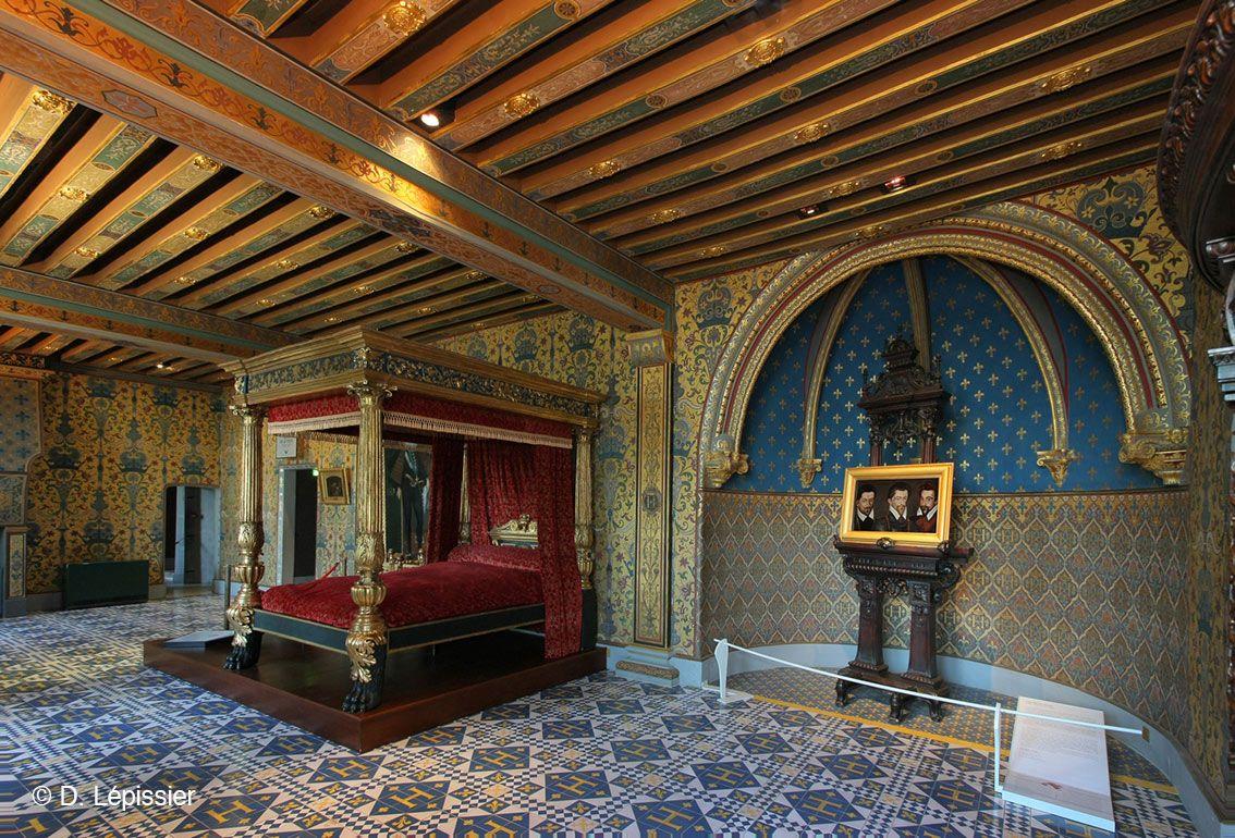 La chambre de fran ois ier au ch teau royal de blois d l pissier castles to visit - Chambre de commerce de blois ...