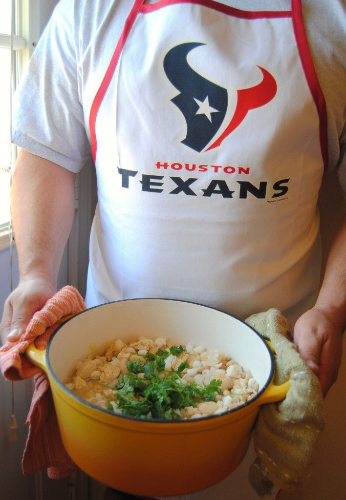 TEXAN Chicken and Hominy Stew with Cumin ….looks like some mighty fine comfort food to me!