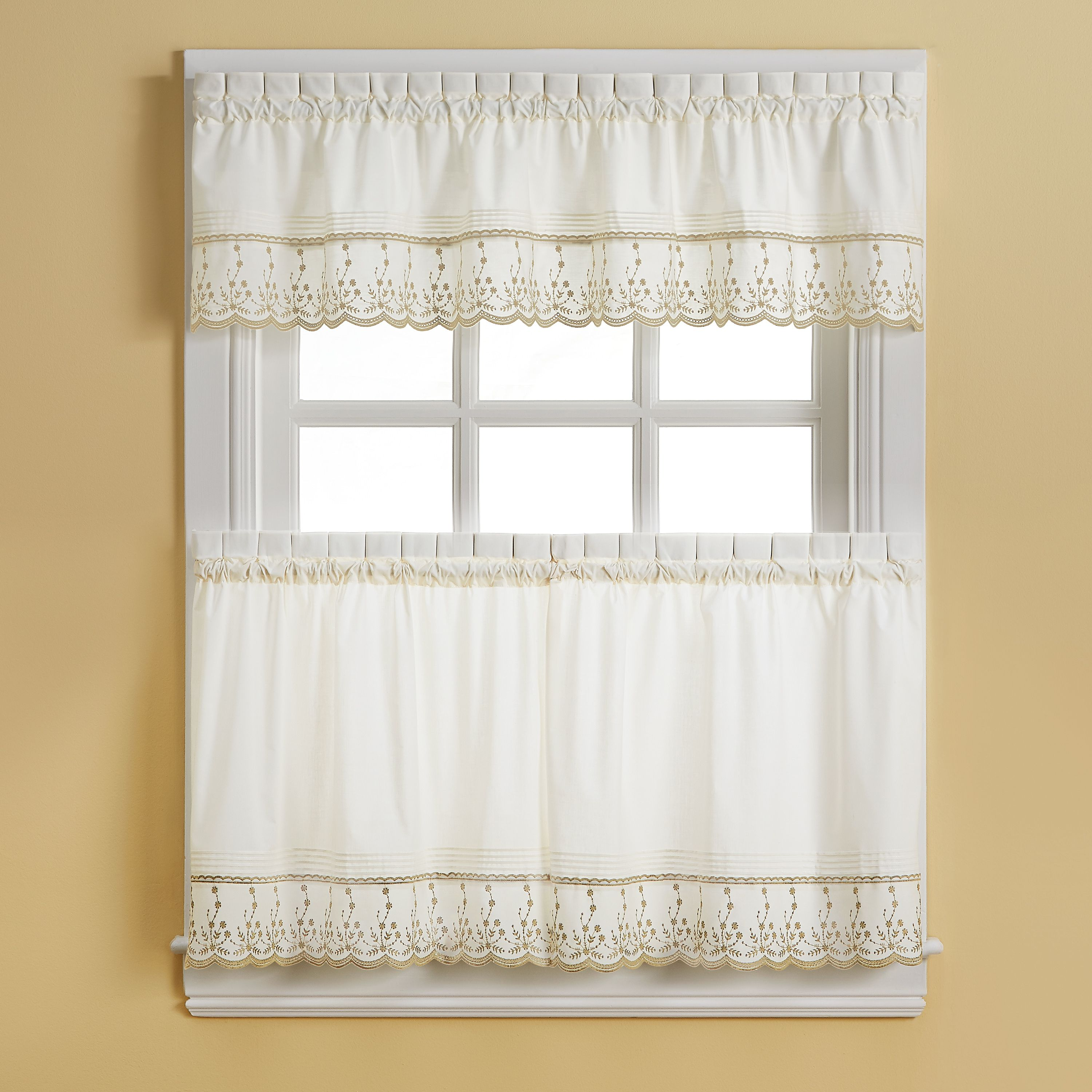 Home Tier Curtains Curtains Valance