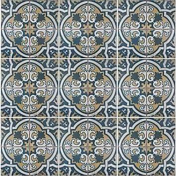 Ceramic Floor Wall Tile Merola Tile Flooring Kings Canarsie 17 3 4 In X 17 3 4 In Ceramic Floor And Wall Tile 11 3 Sq Ft Tiles Ceramic Floor Elitetile