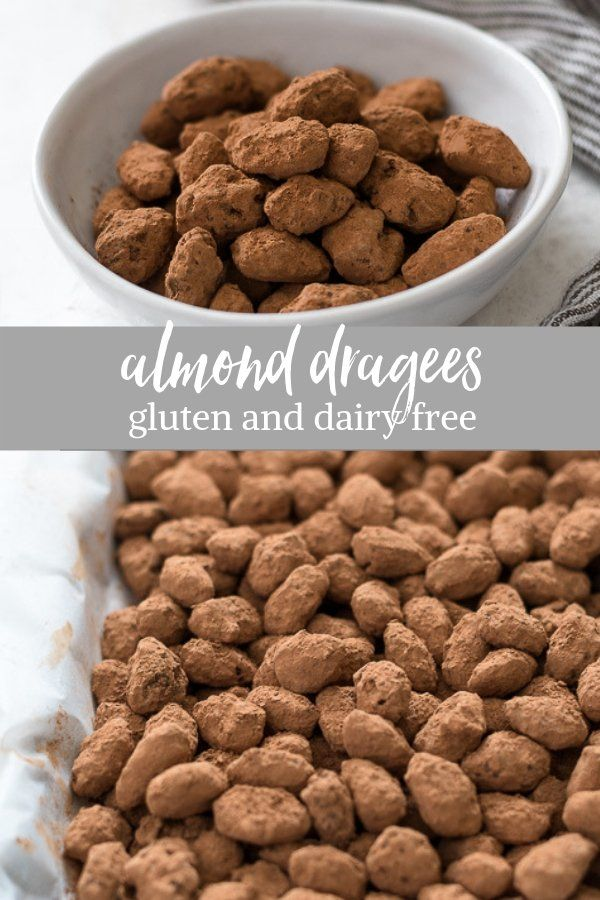 Almond Dragees are crunchy, caramelized almonds tossed in