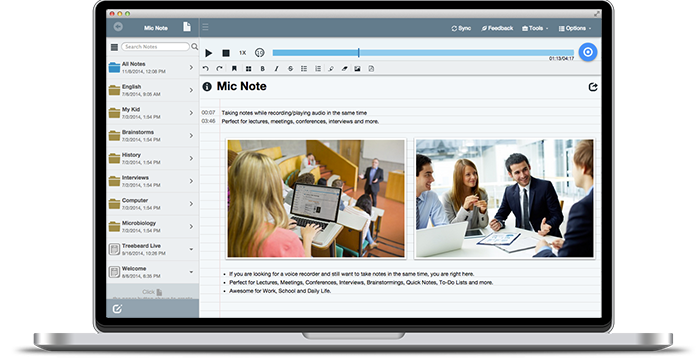 Mic Note Voice Recorder & Notepad for Windows,Mac,Chrome