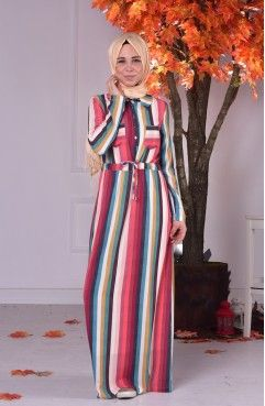 cdd901b4494e6 Sefamerve hijab, Turkish online store. long sleeves maxi dress. Fall hijab  style. multi colors