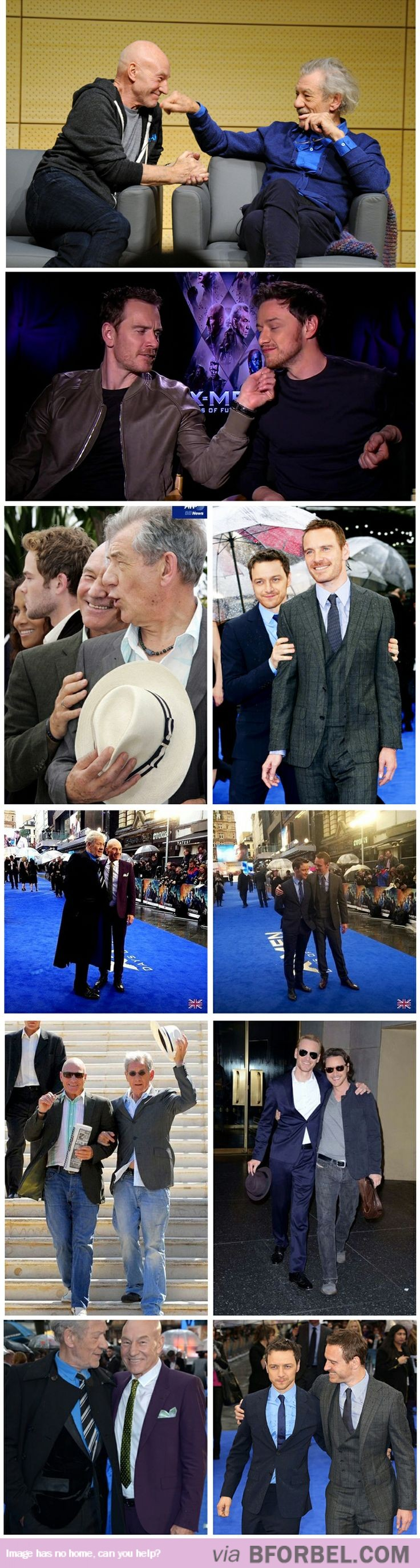 Michael Fassbender and James McAvoy Are The Next Sir Ian McKellen And Sir Patrick Stewart…
