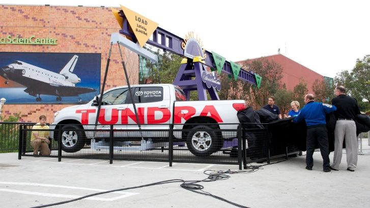 Space Shuttle Hauler Toyota Tundra Becomes Museum Piece