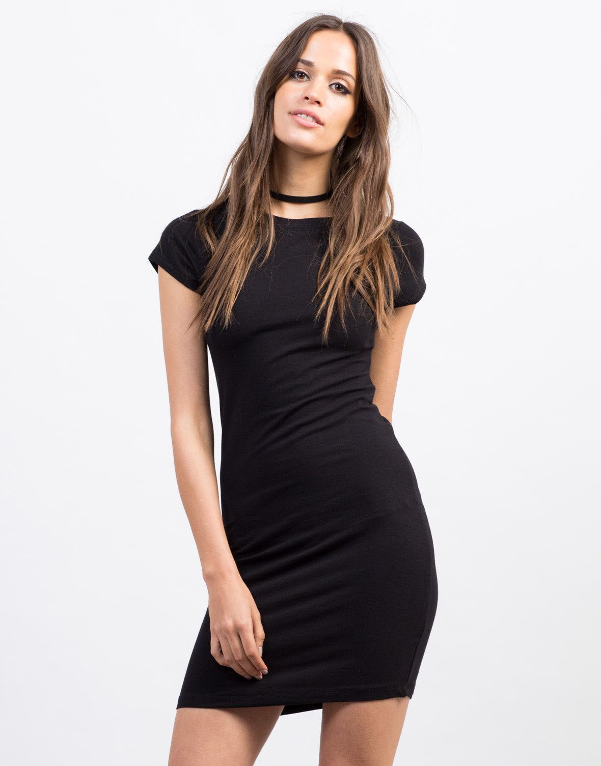 277c7a694ba4 This Bodycon T-Shirt Dress will be your best friend. Pair this dress with  some lace-up sneakers for a casual